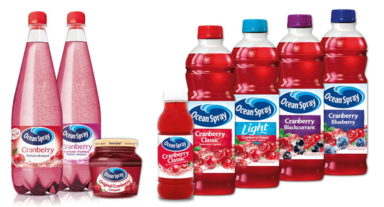 ocean spray cranberries inc About us for 80 years, ocean spray's logo has been an enduring symbol of what we stand for - taste, health and heritage from the creation of the cooperative, to the steady wave of new products designed to delight customers today, ocean spray has a history of quality, great taste and innovative products.
